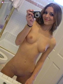 Cute selfie.