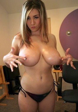 Nude huge pierced breasts have this..