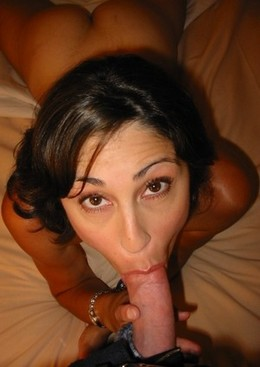 Amazing amateur deepthroat picture..