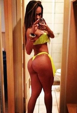 Handsome sexy latina in sexy bikini..