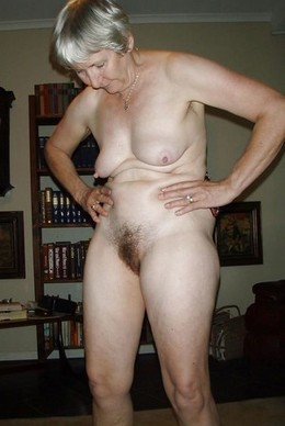 Ugly old whore hairy pussy