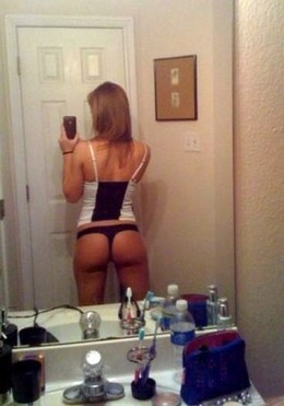 Great sexy blonde selfshot her great..