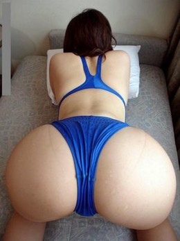 Fabulous asian butt in a picture.