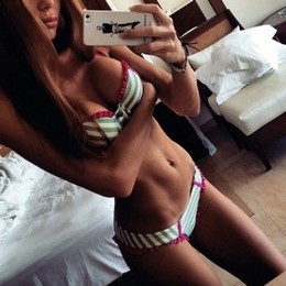 Sweet hot teen selfie of her handsome..
