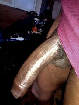 Fat black 13 inch black dick at home