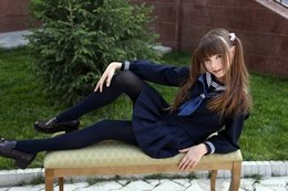 Fabulous teen (18+) student in a..