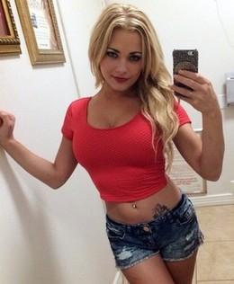 Cute blonde teen bimbo amateur..