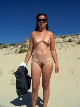 Real milfs prefer the nudist beaches..