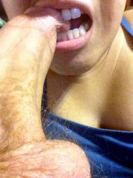 Big cock in my mouth