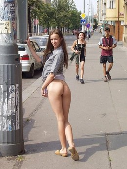The kind of bum you'd rather see on..