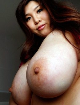 Photo with a beautiful asian big boobs.