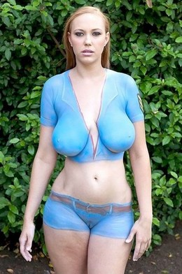 Great body paint ^^.