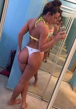 Amateur selfshot of hot young blonde..