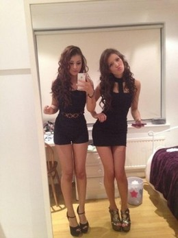 Young slut sisters sexy selfshot