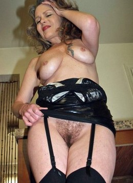 Perfect hairy old pussy naked