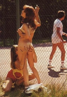 Sex on the tennis court. Yeah,..