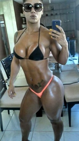 Sexy latina fit body and nice tits