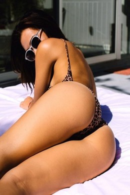 Real hot latina in hot thong on her..