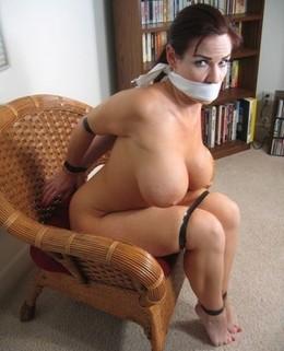 Amazing bondage photo with a sexy big..