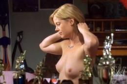 Kim Poirier topless movie scene from..