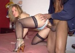 Amateur Interracial porn pics