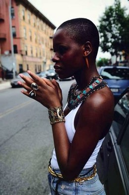 African queen in NY